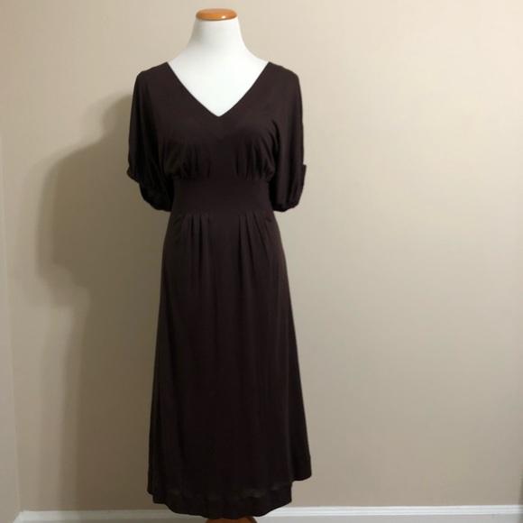 Anthropologie Dresses & Skirts - Anthropologie Brown Delta Dress